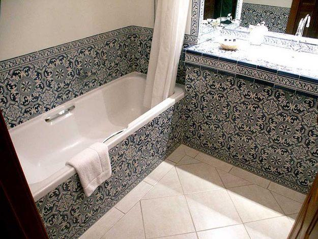 Wc archives carrelage for Faience petit carreaux salle de bain