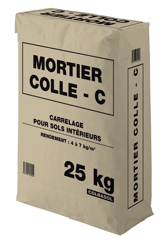 Mortier colle for Mortier colle carrelage exterieur