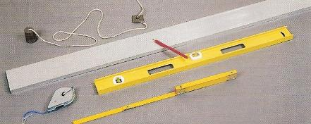 carrelage instruments traçage mesure