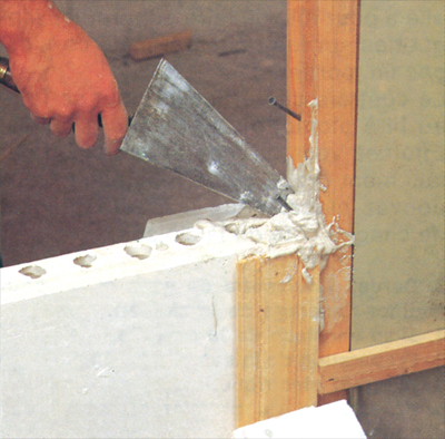 liaison verticale carreaux platre carrelage