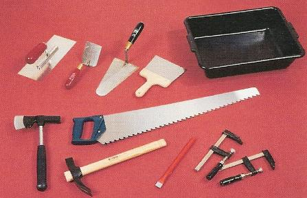 outils carrelage pose carreaux